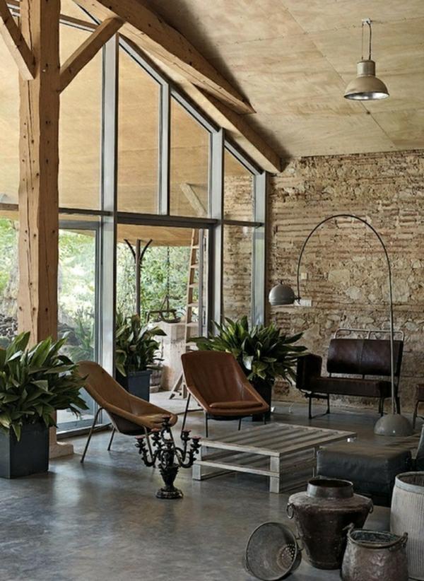 Rustikale Einrichtung Beeindruckend On Andere Auf Wohnzimmer Im Landhausstil Ideen 8