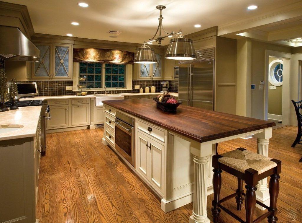 Rustikale Einrichtung Bemerkenswert On Andere Und Moderne Ideen Für Küchendeko Interieur 9