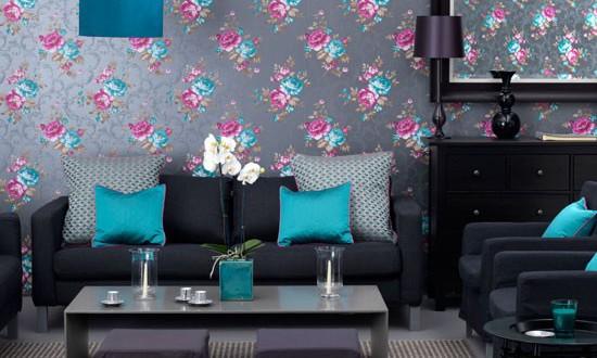 Schöne Wandfarben Modern On Andere Auf Wandfarbe Grau FresHouse 9