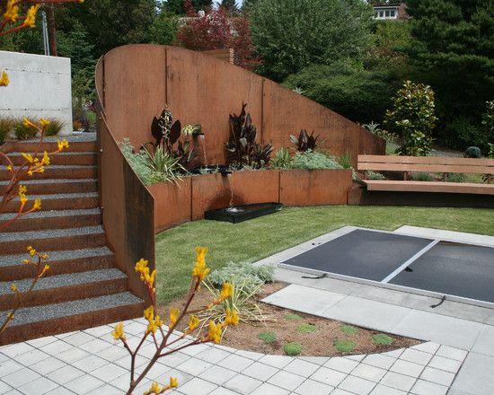 Sichtschutz Auf Stützmauer Beeindruckend On Andere In 84 Ideen Für Im Garten Bauen Hangsicherung Und 5