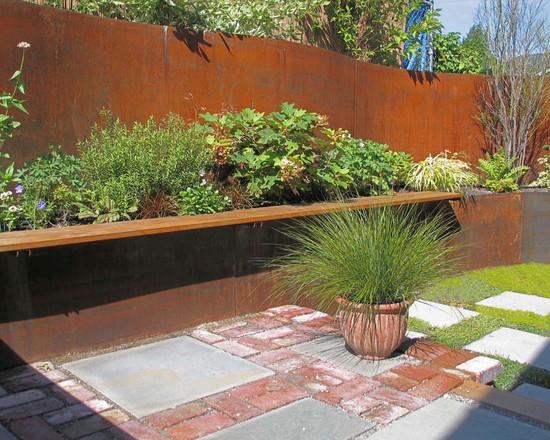 Sichtschutz Auf Stützmauer Bescheiden On Andere Für 84 Ideen Im Garten Bauen Hangsicherung 4