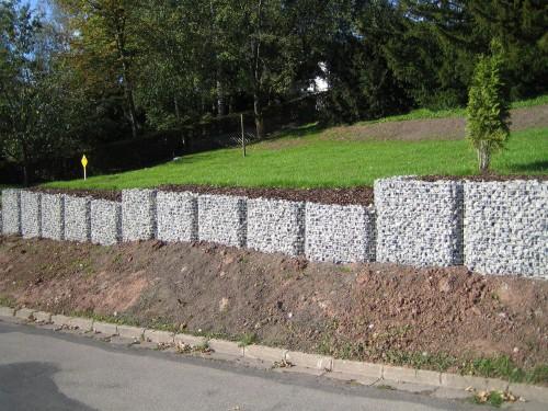 Sichtschutz Auf Stützmauer Imposing On Andere In Bezug Bildergalerie Der Gabione Steinkörbe Gabo Flex Aus Unsere 3