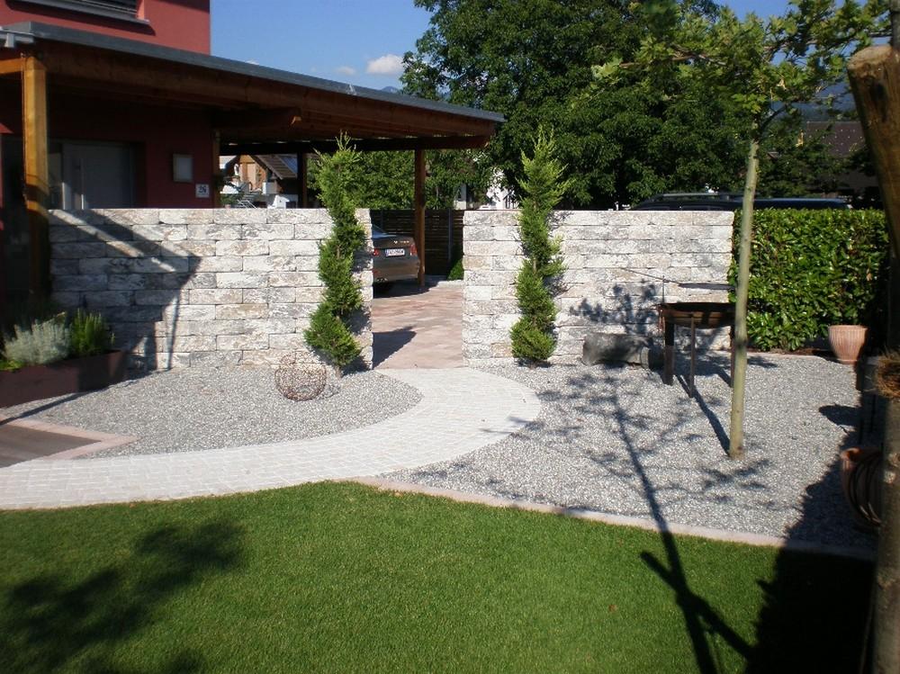 Sichtschutz Auf Stützmauer Wunderbar On Andere Für MAUERN WÄNDE SICHTSCHUTZ Pool Gartenbau TOMO 7