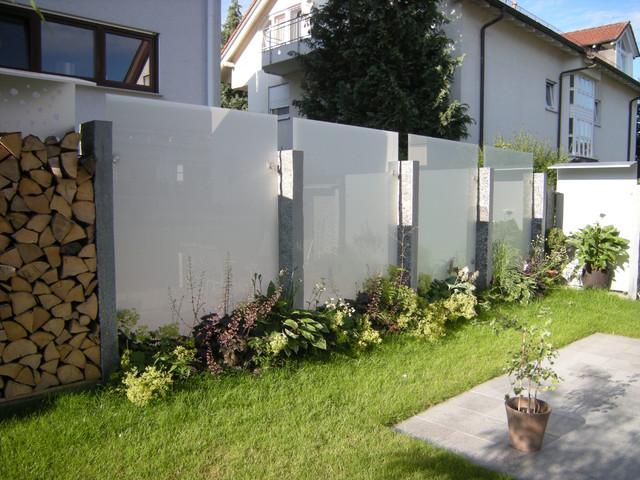 Sichtschutz Garten Beeindruckend On Andere überall Glas Und Edelstahl Als Im Modern 9
