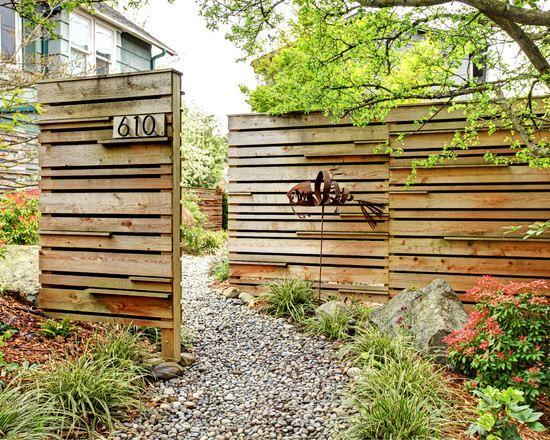 Sichtschutz Garten Bemerkenswert On Andere Mit Gartenzaun Kies Gehweg Eisen Kunst Vorgarten 5