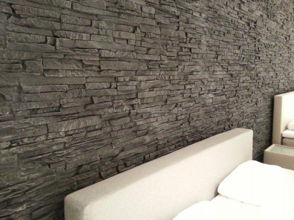 Steinwand Imposing On Andere In Moderne Steinwande Wohnzimmer 43 Beispiele 9