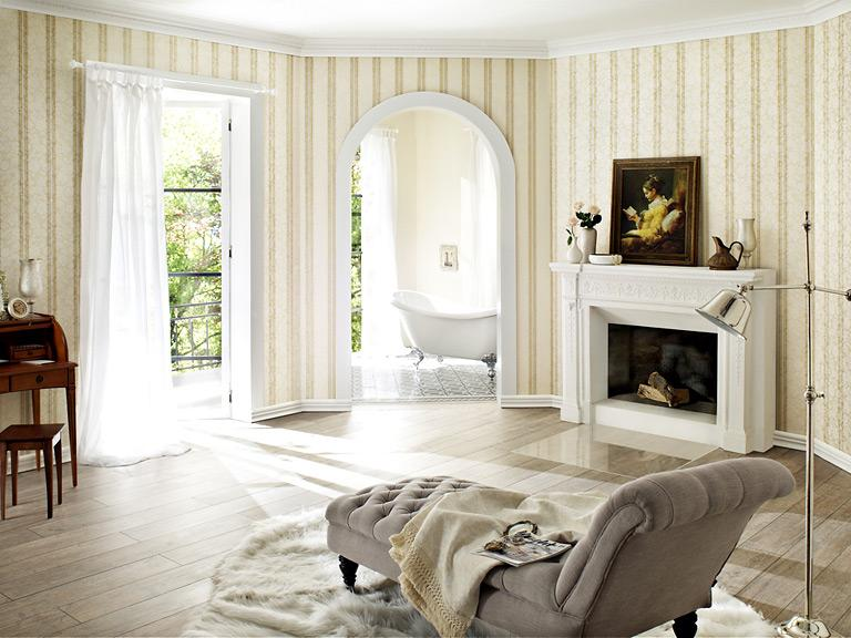 Tapeten Landhausstil Einzigartig On Andere Für Royal Trianon Von Rasch Bild 75 SCHÖNER WOHNEN 8
