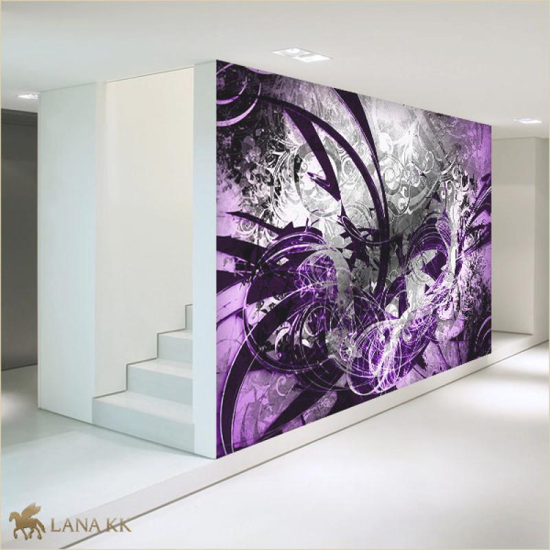 Tapeten Lila Farbe Wandgestaltung Einzigartig On Andere In Bezug Auf Furthere Info 7