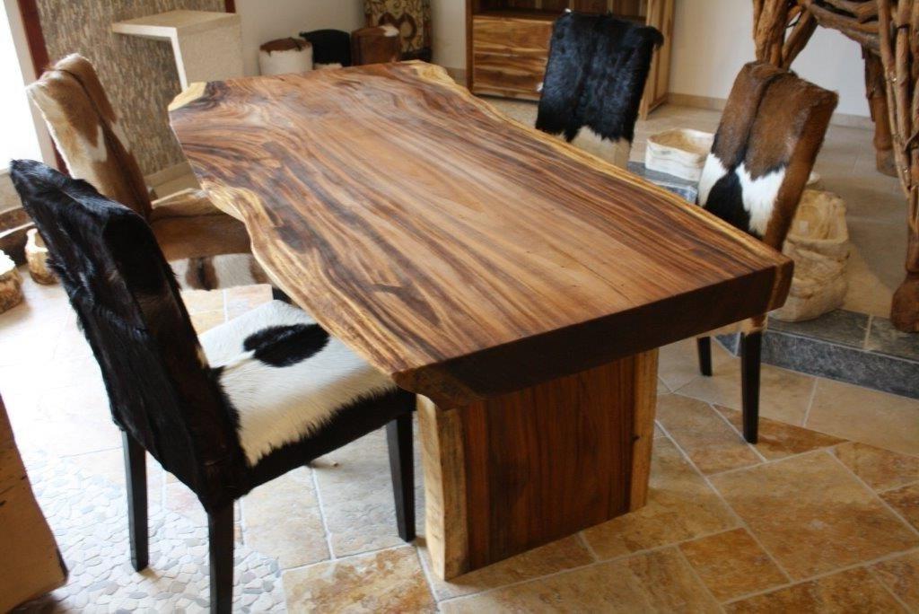 Tisch Massiv Nett On Andere Beabsichtigt Baumstamm Suar Der Tischonkel 7