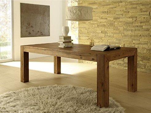 Tisch Massiv Stilvoll On Andere Innerhalb Esstisch Designer MASSIV Ausziehbar 160 220x90 Cm Akazie 1