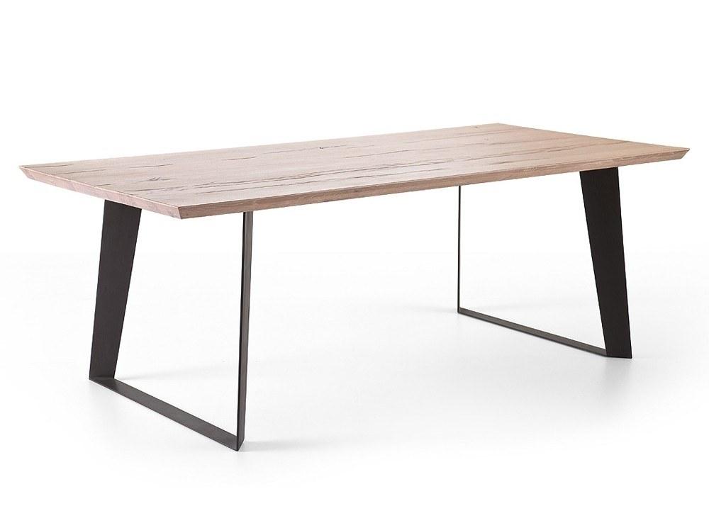 Tisch Massiv Unglaublich On Andere Beabsichtigt Janek Kufentisch Holz Eiche Gekälkt 20022 6