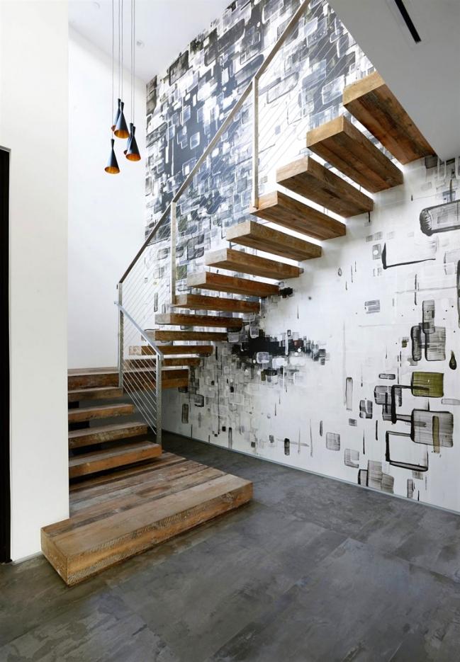 Treppen Wand Gestalten Fein On Andere Für Nett Wande Modell Software Fresko Trendige 7