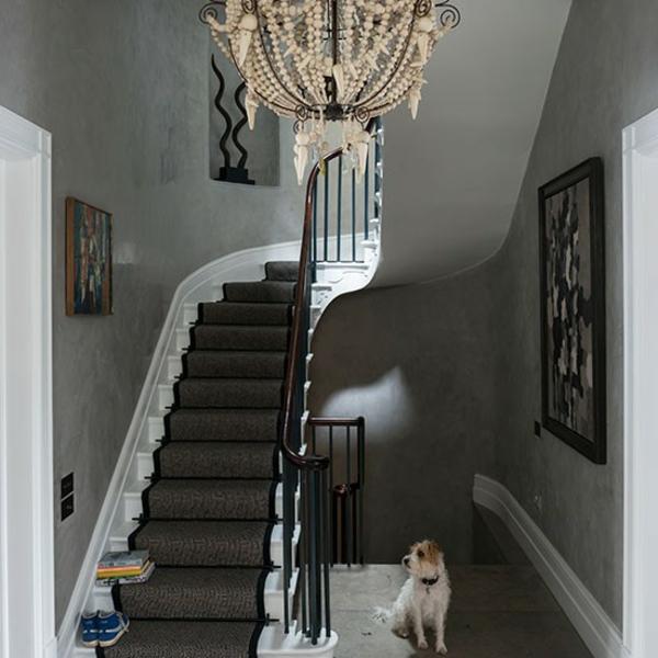 Treppen Wand Gestalten Großartig On Andere In Wandgestaltung Flur Mit Treppe Fotos Schlafzimmer Wandfarbe 8