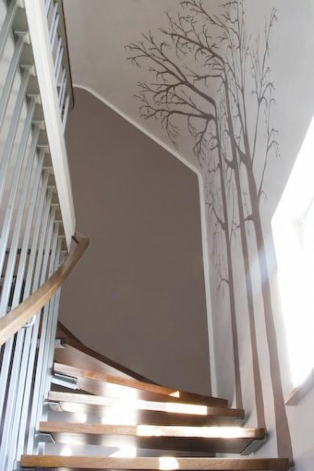 Treppenhaus Streichen Exquisit On Andere Innerhalb Geräumiges Wohndesign Fassade Neu 4