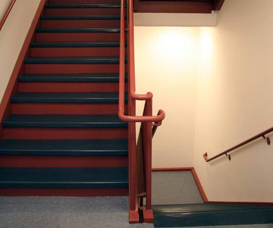 Treppenhaus Streichen