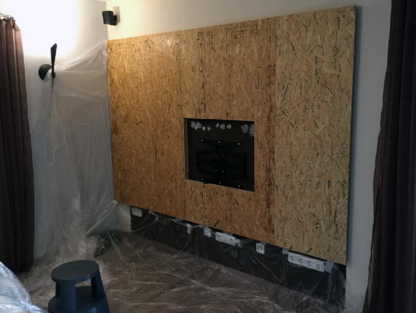 Tv Wand Ausgezeichnet On Andere überall Design TV Bauen Und Mit Verblendern Individuell 7