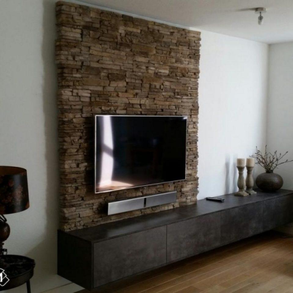 Tv Wand Einzigartig On Andere Für Uncategorized Ehrfürchtiges Ebenfalls Wanddesign Miti 8