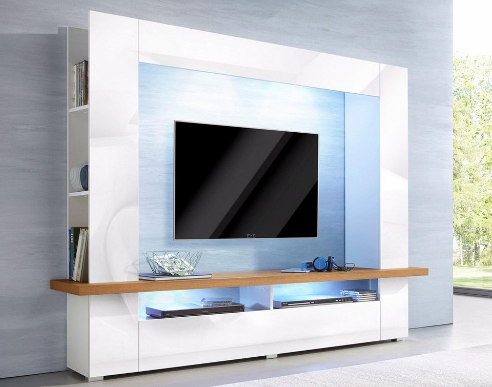 Tv Wand Imposing On Andere überall TV Online Kaufen Schrank Mediawand OTTO 1