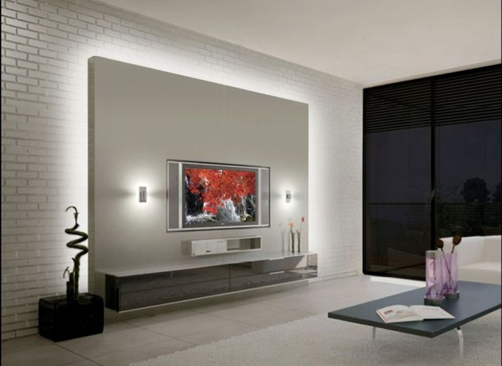 Tv Wand Modern On Andere Für Unit Designs For Living Room Best 25 Led Ideas 9