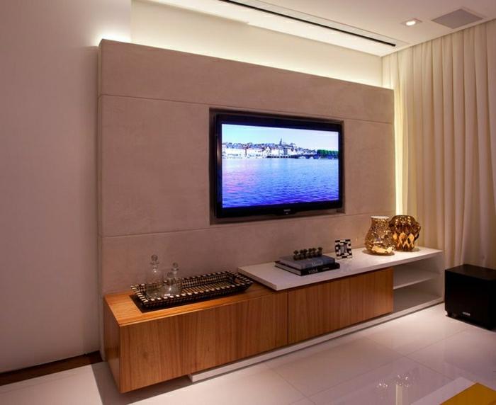 Tv Wandverkleidung Perfekt On Andere Für TV Wandpaneel 35 Ultra Moderne Vorschläge Archzine Net 4