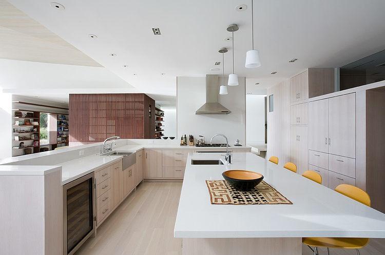U Küchen Mit Insel Glänzend On Andere 50 Beispiele Für Professionell Designte Küche Kochinsel 6