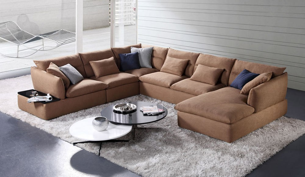 U Sofa Herrlich On Andere Beabsichtigt Orion Shape Modular By Delux Deco 7