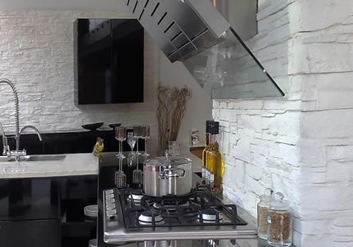 Verblendsteine Küche