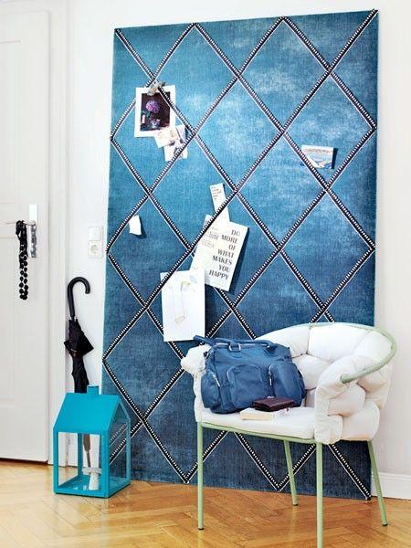 Wand Gestalten Mit Stoff Modern On Andere Wunderbar Für 2