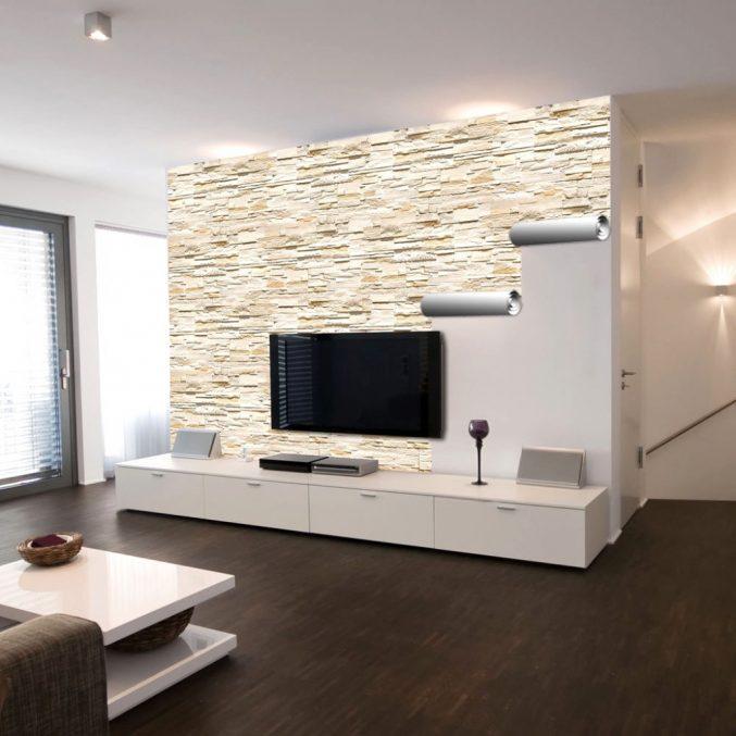 Wanddesign Stilvoll On Andere In Bezug Auf Uncategorized Wohnzimmer Uncategorizeds 1