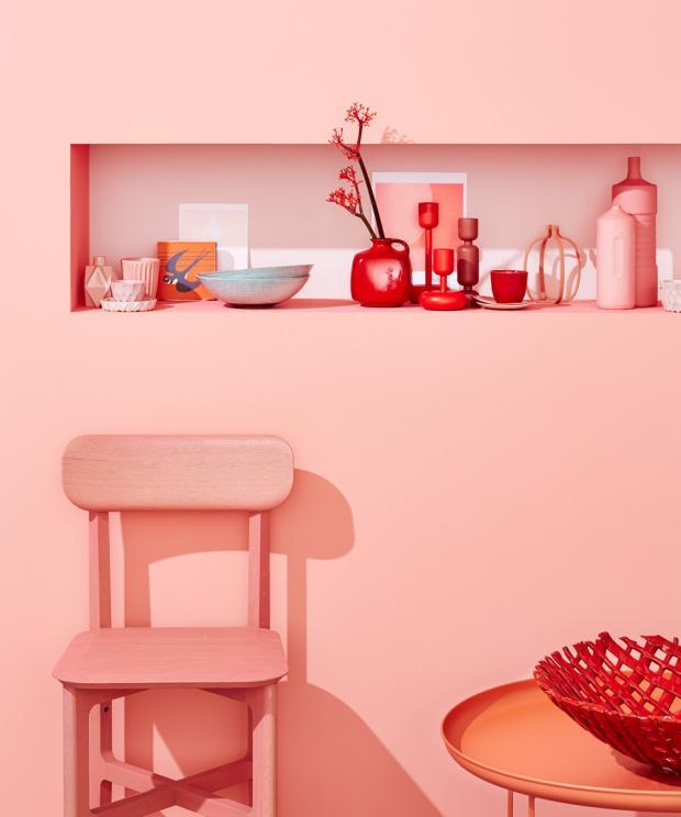 Wandfarbe Korall Bescheiden On Andere Für Mutiger Farbenmix Rot Und Rosa Bild 2 SCHÖNER WOHNEN