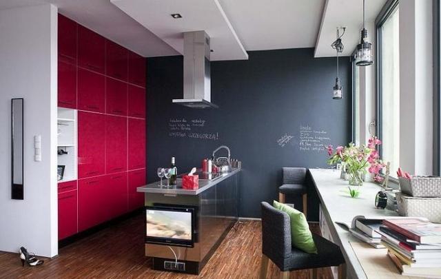 Wandfarbe Küche Ausgezeichnet On Andere Beabsichtigt Welche Für 55 Gute Ideen Und Beispiele 6