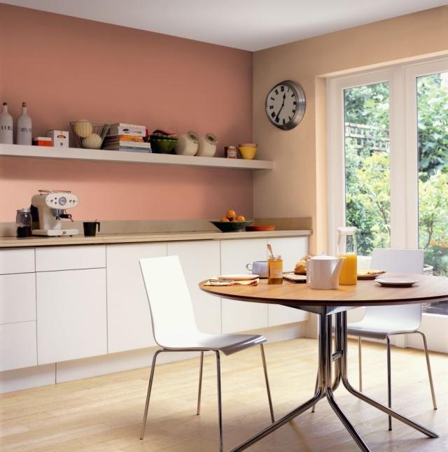 Wandfarbe Küche Charmant On Andere Mit Welche Für 55 Gute Ideen Und Beispiele 1