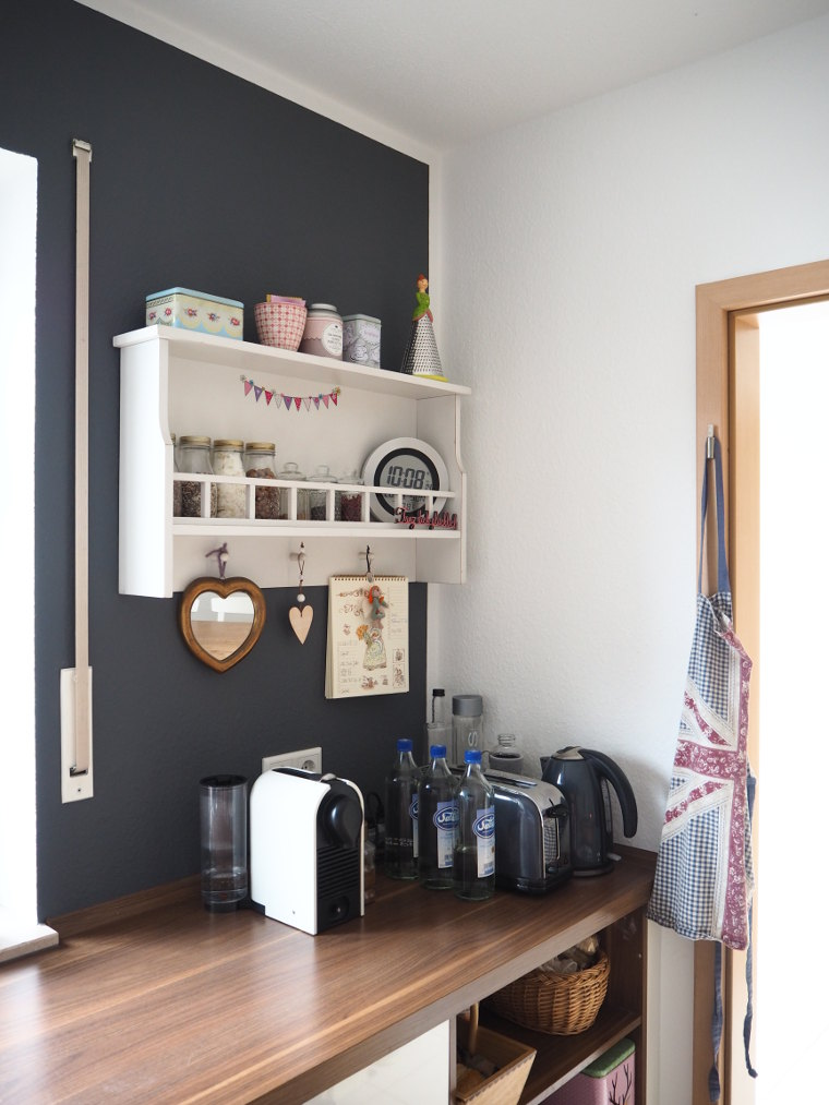 Wandfarbe Küche Herrlich On Andere In Neue Der Fräulein Ordnung 9