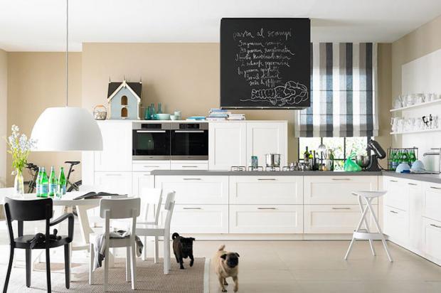 Wandfarbe Küche Wunderbar On Andere Innerhalb Sandtöne Und Weiß Machen Die Freundlich Bild 19 SCHÖNER 4