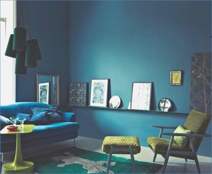Wandfarbe Petrol Wirkung Perfekt On Andere Für Wohnzimmer In 8