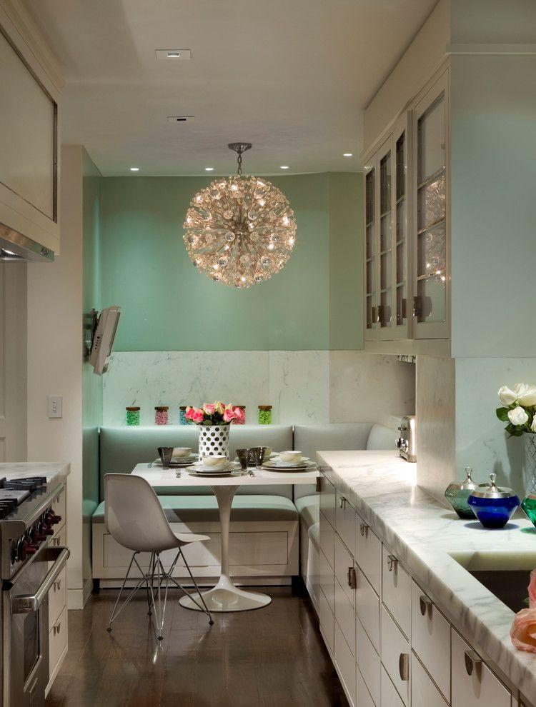 Wandfarben 2015 Küche Einfach On Andere Für Verschönern Mit Wandfarbe Hellbrün Und Weiße Sitzecke 1