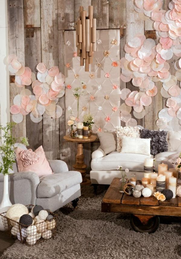 Wandgestaltung Bescheiden On Andere Und Ideen 30 Kreative Einfache Inspirationen 1