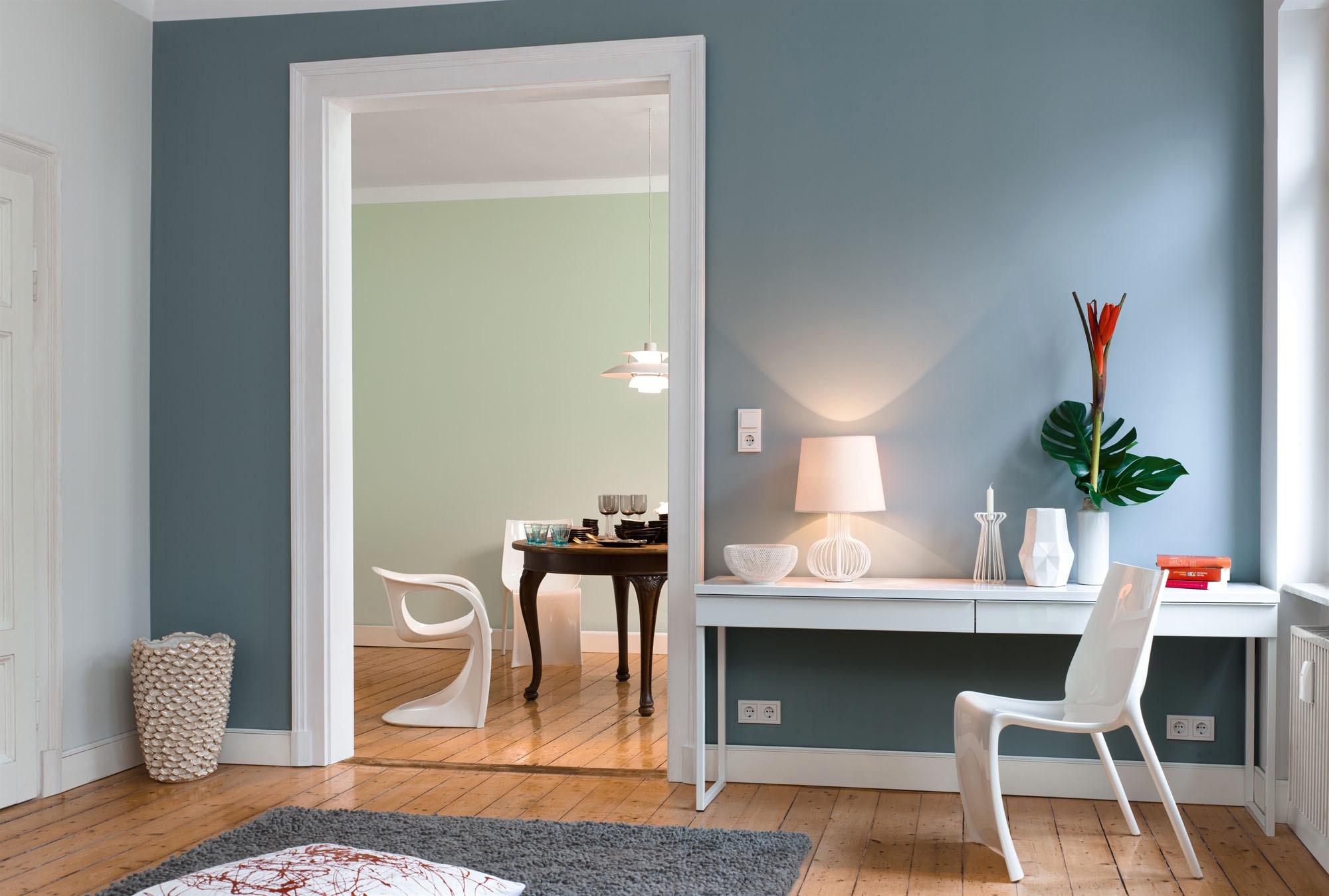 Wandgestaltung Mit Drei Farben Charmant On Andere In Bezug Auf Für Pic Flur Diele Farbe 5