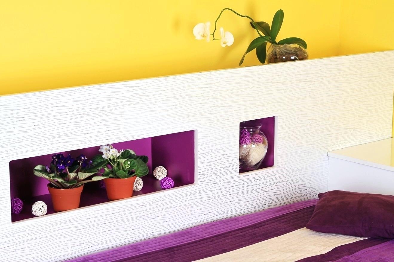 Wandgestaltung Mit Drei Farben Unglaublich On Andere Auf Schlafzimmer Beispiele Ideen Farbe 4