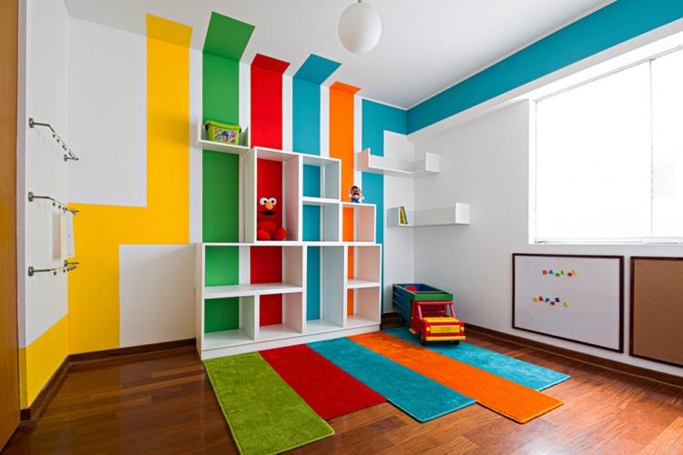 Wandgestaltung Streifen Ausgezeichnet On Andere In Bezug Auf 65 Wand Streichen Ideen Muster Und Struktureffekte 3