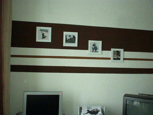 Wandgestaltung Streifen Bemerkenswert On Andere Mit Ideen Einzigartig Und Wohnzimmer 2