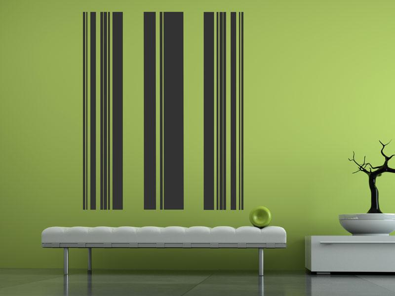 Wandgestaltung Streifen Kreativ On Andere Beabsichtigt Braun Wand Modern Und WellSuited Ideas Home 7