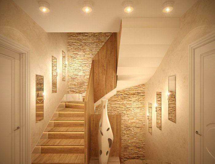 Wandgestaltung Treppenhaus Einfamilienhaus Bescheiden On Andere Beabsichtigt Einfach Best 25 Flur Ideas Pinterest 1