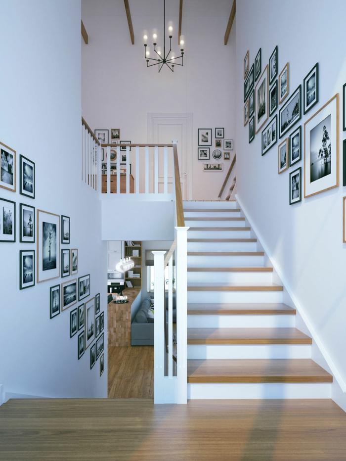 Wandgestaltung Treppenhaus Einfamilienhaus Erstaunlich On Andere In Bezug Auf 1001 Beispiele Für Gestalten 80 Ideen Als 2