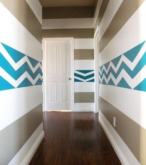 Wandstreifen Wunderbar On Andere Für Charmant For Innen Und Aussen 9