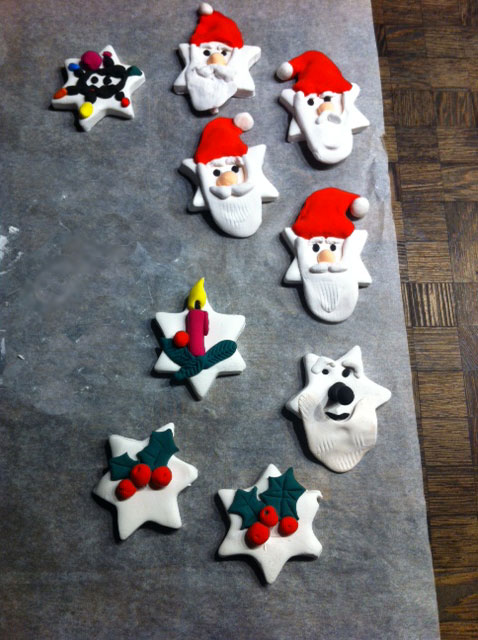 Weihnachtsdeko Fimo Charmant On Andere Beabsichtigt Basteln Mit Junior Polymer Clay 2