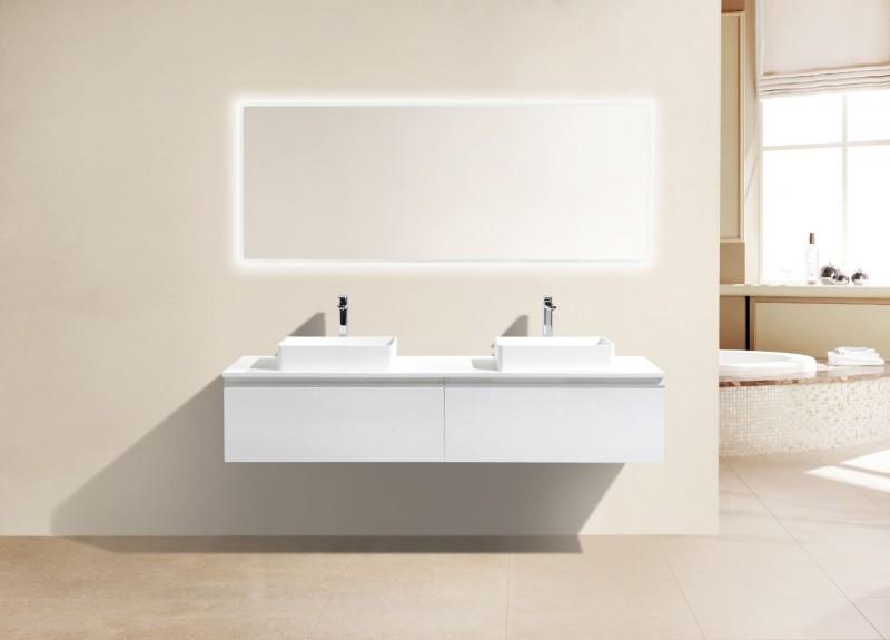 Weiße Badmöbel Einzigartig On Andere Für Set DELIA 1600 Weiß Anzahl Schubladen Wählbar Badewelt 1