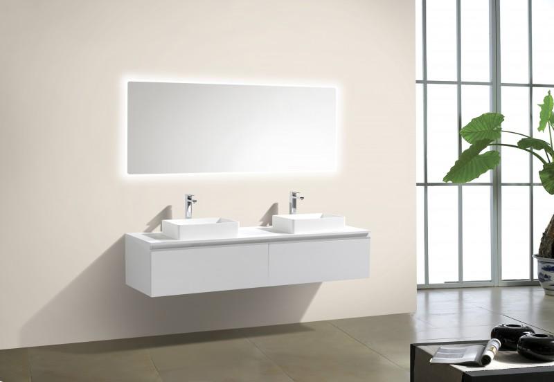 Weiße Badmöbel Fein On Andere Und Sets In Weiß Badezimmermöbel 5