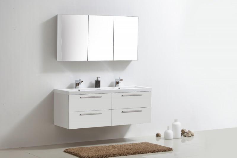 Weiße Badmöbel Wunderbar On Andere In Bezug Auf Sets Weiß Badezimmermöbel 3