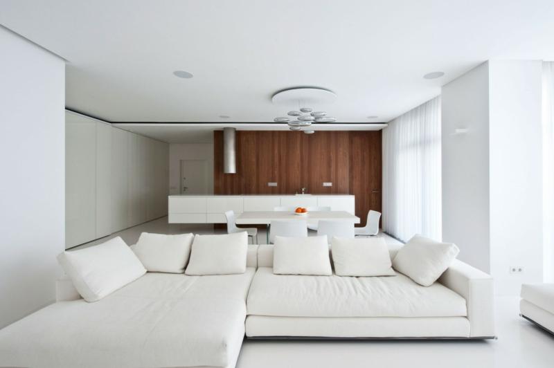Weiße Möbel Wand Beeindruckend On Andere Und 38 Ideen Für Weißes Wohnzimmer Wohnideen Mit Reinheit Eleganz 6